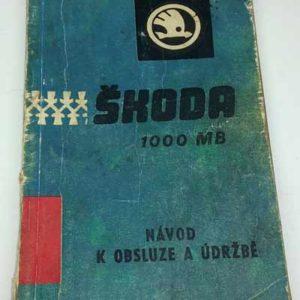 Návod k obsluze a údržbě Škoda 1000 MB