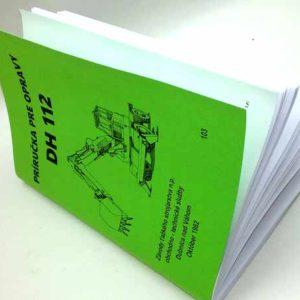 Príručka pre opravy DH 112. reprint