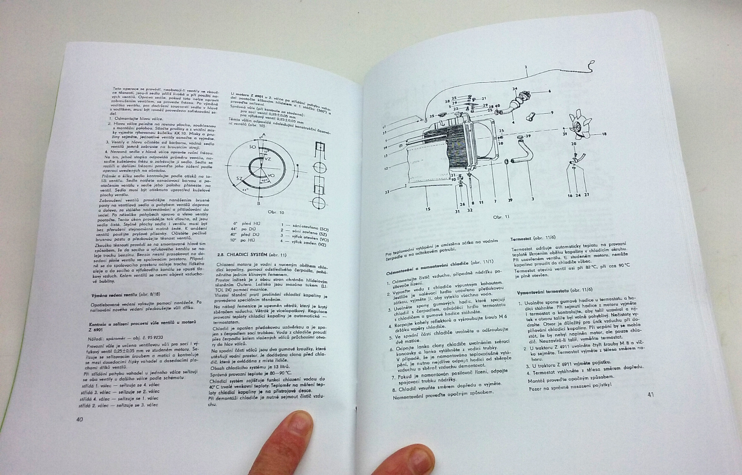 Zetor 49 59 6911 6945 Dilenska Prirucka Reprint Motomanual