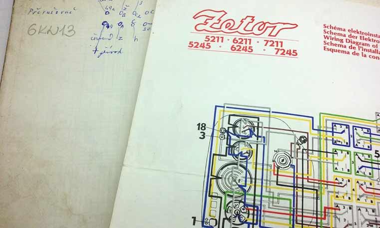Zetor 8011 Dílenská Příručka Pro Montáž Demontáž A Opravy