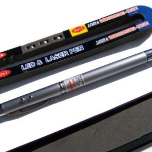 Propiska+laser+LEDsvítilna+teleskopické ukazoválko, magnet na konci 5v1.