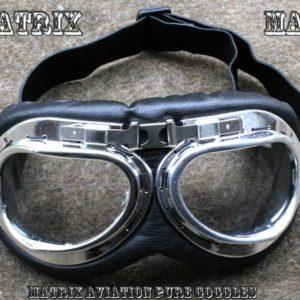 Retro brýle na motocykl – MAP -Matrix Aviation Pure.