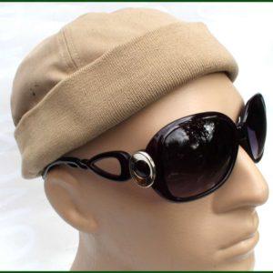 Sluneční brýle Sunglasses – kulatá ozdoba.