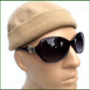 Sluneční brýle Sunglasses PL36 – hranatá ozdoba.