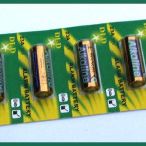 Baterie DLD 12Volt 23S pro alarm, bezdrát.zvonek, centrální zamykání