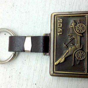 Přívěsek na klíče Škoda.