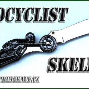Zavírací nůž Motocyclist Skeleton rarita.