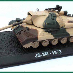 Tank JS-3M – 1973. Plastový model 1:72.