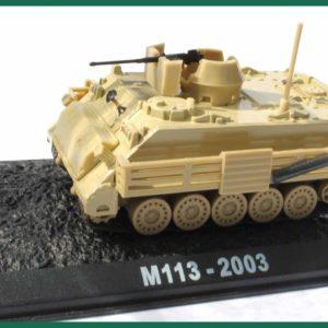 Tank M113 – 2003. Plastový model 1:72.