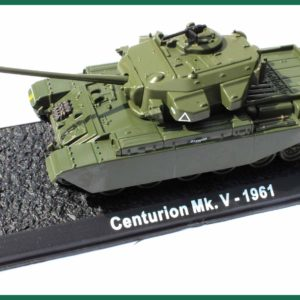 Tank Centurion Mk.V – 1961. Plastový model 1:72.