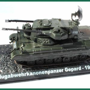 Tank Flugabwehrkanonenpanzer Gepard – 1999. Plastový model 1:72.