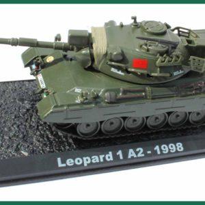 Tank Leopard 1 A2 – 1998. Plastový model 1:72.