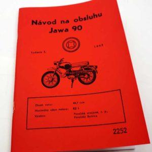 Jawa 90 Návod na obsluhu -1969 reprint.