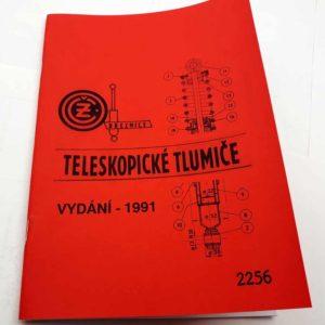 Motocyklové tlumiče Katalog 1991 reprint