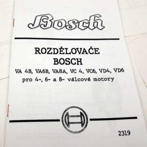 Rozdělovač BOSCH VA 4B, VA6B, VA8A, VC 4, VC6, VD4, VD6 reprint