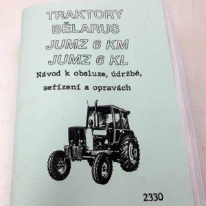 Traktory Bělarus JUMZ-6KN, JUMZ-6KL Návod k obsluze, údržbě, seřízení a opravách reprint
